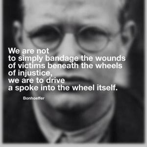 bonhoeffer on injustice