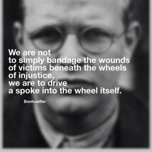 bonhoeffer on injustice